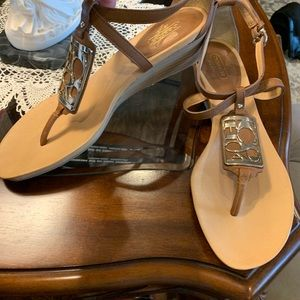Coach Dylan Sandals Size 9.5